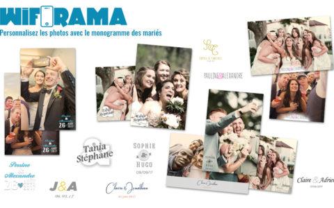 Photos personnalisées pour les mariages