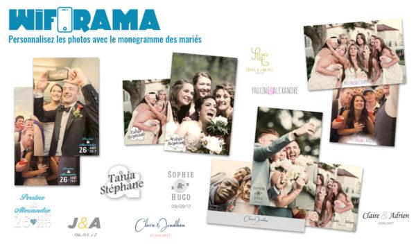 personnalisation photo mariage