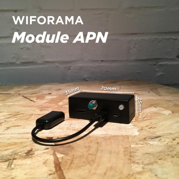 Module APN pour transfert WIFI depuis Reflex